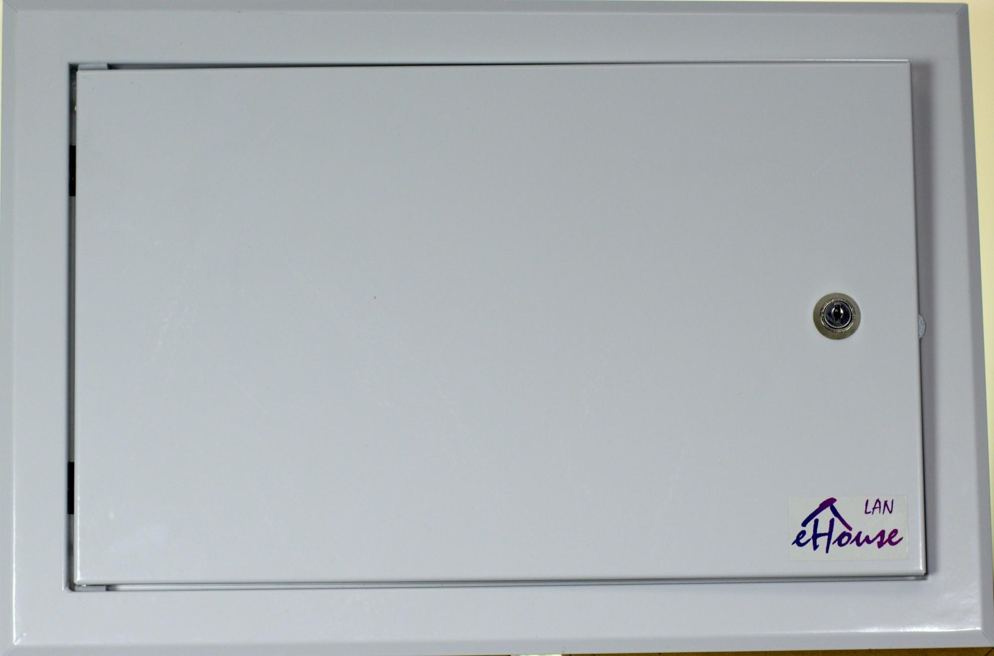 Automatyka Budynkowa LAN EthernetRoomManager zintegrowany z modułem przekaźników front