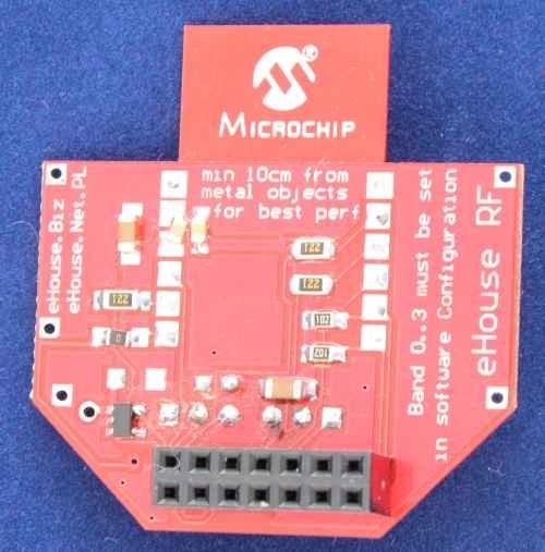 Inteligentny Dom bezprzewodowy eHouse RF moduł radiowy