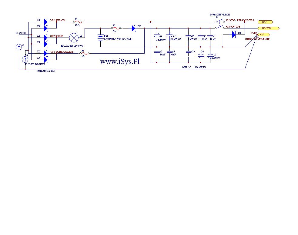 Electronic House eHouse - Proper power building automation and electronic distributed systems