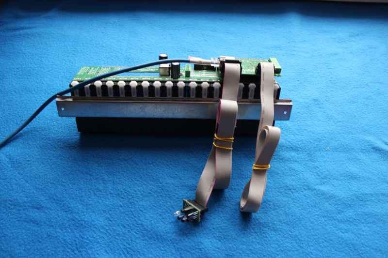 Moduł przekaźników MP-18 z EthernetRoomManager Mini połączenia - inteligentny dom eHouse