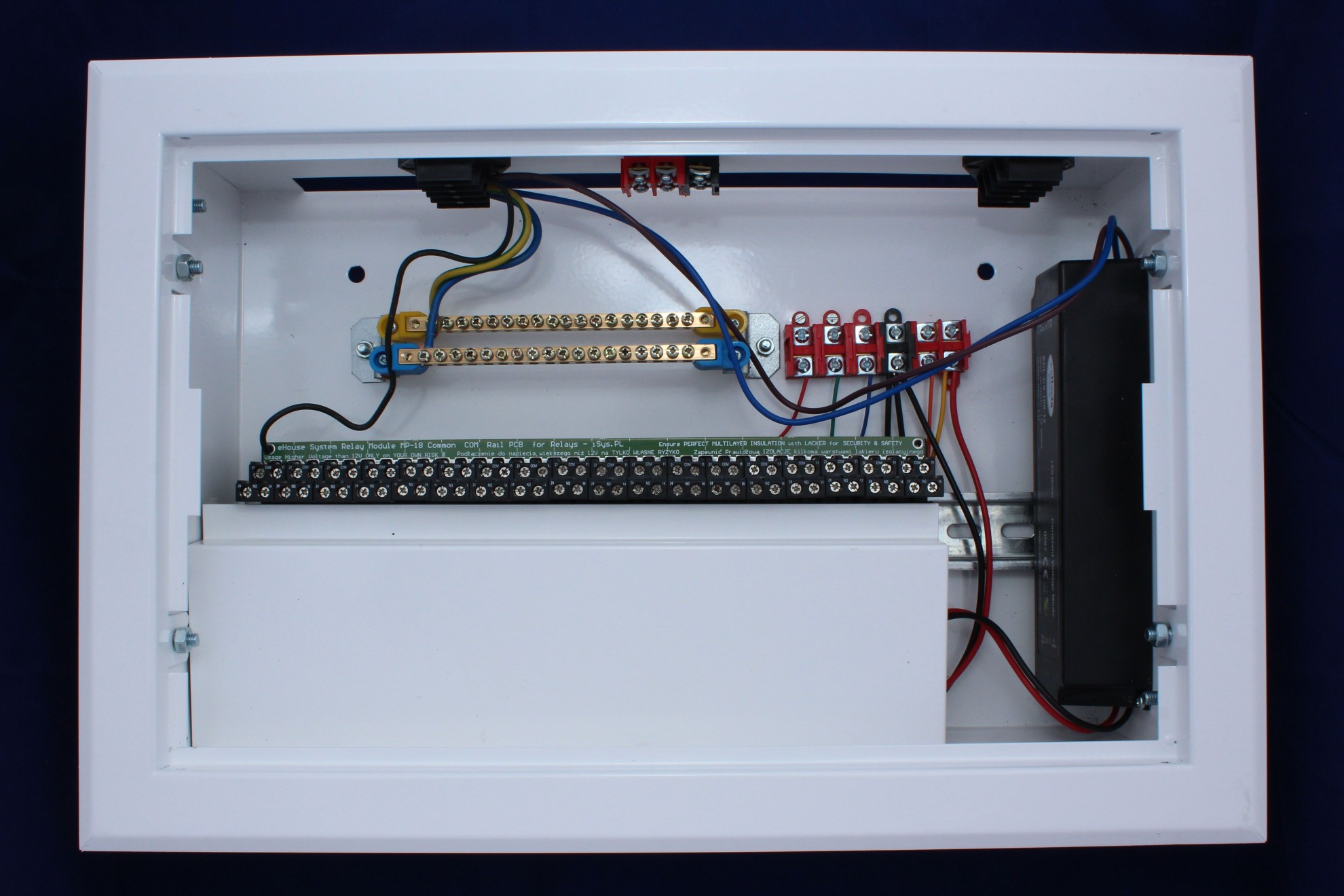 Ehouse Lan Smart Home Mini Switchboard Diy Smart Home Intelligent Home Building Automation Bms